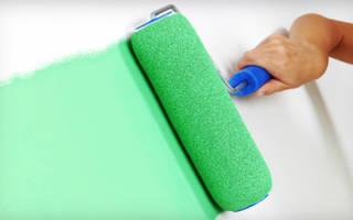 Как развести краску для покраски стен