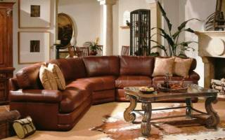 Какая мебель подойдёт к коричневым обоям
