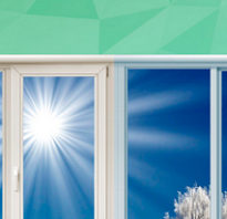 Виды окон для лоджии и балкона