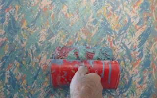 Декоративное нанесение краски на стены