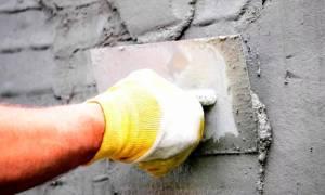 Штукатурка стен цементным раствором своими руками видео