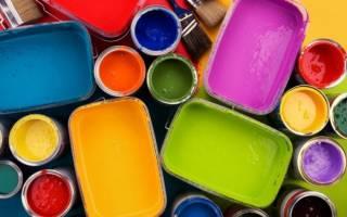 Область применения краски