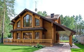 Крутые дома из дерева