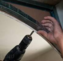 Межкомнатные арки из гипсокартона своими руками