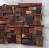 Украшения из дерева на стену