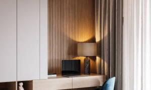 Декоративные рейки из дерева для стен