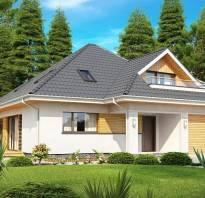 Дом с мансардой и балконом
