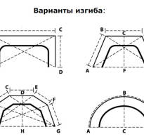Карниз для эркера