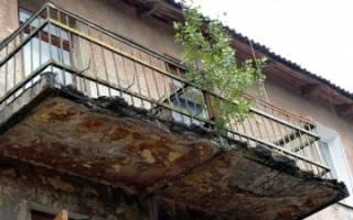 Кто должен ремонтировать балкон