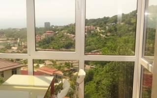 Использование на лоджии и балконе панорамных окон