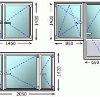 Размер окна стандарт