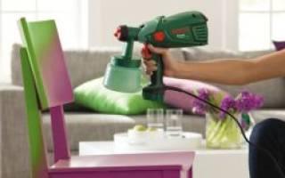 Как красить краскопультом от компрессора