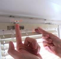 Как снять горизонтальные жалюзи с окна чтобы помыть