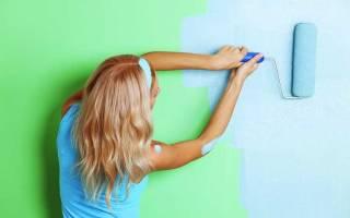 Цвет стен в зале под покраску