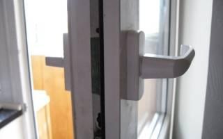 Устранение неисправностей в работе ручки балконной двери