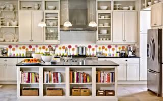 Кухонный фартук материалы