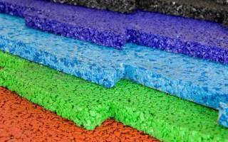 Что такое резиновая плитка
