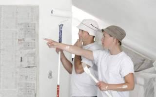 Нужно ли грунтовать шпаклевку перед покраской стен