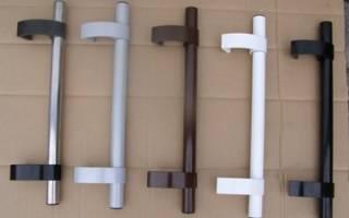 Выбор ручки для пластиковой балконной двери