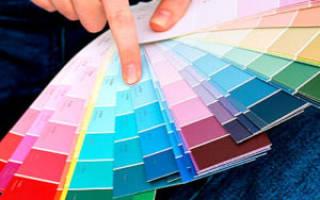 Колеровка краски для обоев под покраску