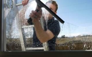 Как отмыть от цемента окна