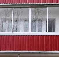 Алюминиевые рамы на балкон