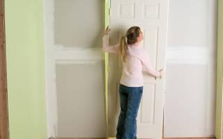 Как снять дверную ручку с защелкой