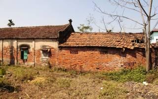 Старые кирпичные дома фото