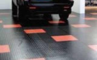 Модульное покрытие для гаража