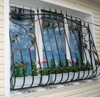Виды решеток на окна