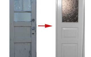 Реставрация дверей межкомнатных своими руками